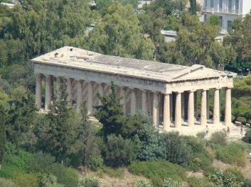 Ναός τού Ηφαίστου (Θησείο), 5ος αιώνας π.Χ., Αρχαία Αγορά, Αθήνα