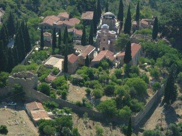 Νεά Μονή Χίου, 11ος αιώνας μ.Χ.