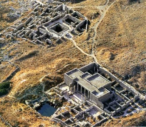 Οικίες στη Δήλο, μετά το 166 π.Χ.