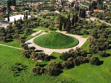 Ο τύμβος τού Μαραθώνα