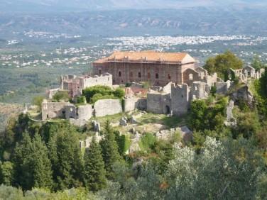 Η βυζαντινή καστροπολιτεία τού Μυστρά