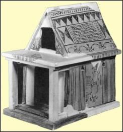 Πήλινο ομοίωμα οικίας, 7ος αιώνας π.Χ., Άργος
