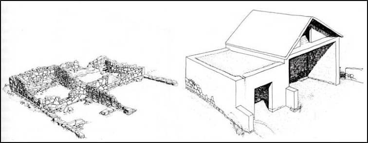 Αποκατάσταση τού πήλινου ομοιώματος οικίας από τη Θήρα, 7ος αιώνας π.Χ.