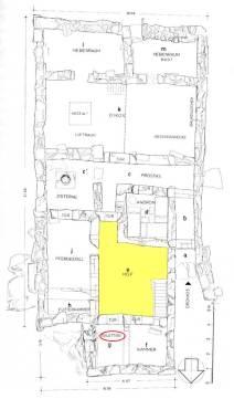 Αποχωρητήριο σε κλασικής οικίας στη Δύστο τής νότιας Εύβοιας, μέσα 4ου αιώνα π.Χ.