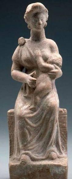 Mητέρα θηλάζουσα, 1ος αιώνας π.Χ., Βοστόνη.