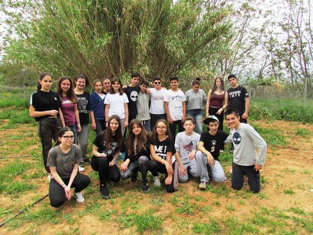 Η αρχαιολογική ομάδα τού Β΄2 τμήματος