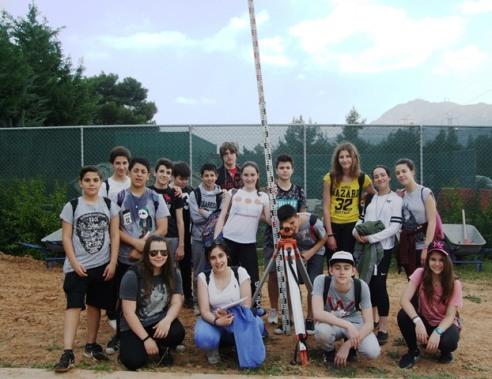 Η αρχαιολογική ομάδα τού Β΄3 τμήματος