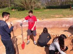 Ευχάριστη ανάπαυλα για τους μικρούς αρχαιολόγους