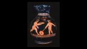 Ερυθρόμορφη χους, παράσταση με δύο αγόρια που παίζουν, 420-410 π.Χ. Princeton University, Art Museum.