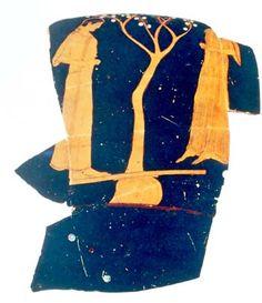 Θραύσμα ερυθρόμορφου κρατήρα, περ. 465 π.Χ., Βοστόνη