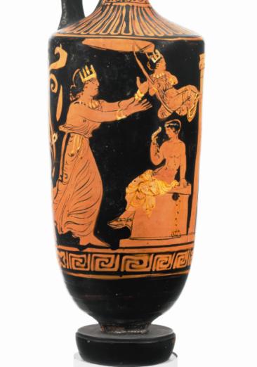 Ερυθρόμορφη λήκυθος, αρχές 4ου αιώνα π.Χ., The Metropolitan Museum of Art.