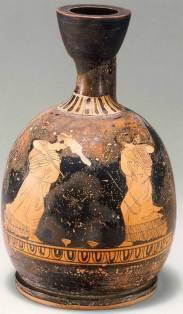 Ερυθρόμορφη λήκυθος, 5ος αιώνας π.Χ., The Metropolitan Museum of Art