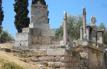 Κεραμεικός, οδός τάφων, 4ος αιώνας π.Χ.