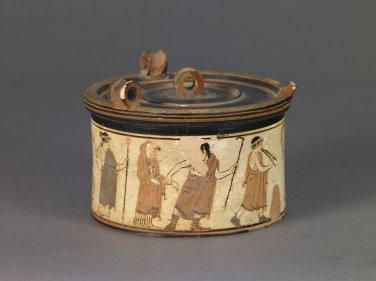 Πυξίδα, γαμήλια τελετή, 470-450 π.Χ., Βρετανικό Μουσείο, 1894,0719.1