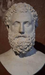 Προτομή τουΑισχύλου. Ρωμαϊκό αντίγραφο ελληνικού έργου του 4ου π.Χ. αι., Βερολίνο