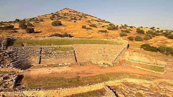 Το αρχαίο θέατρο του Θορικού. Πρώιμος 5ος π.Χ. αιώνας