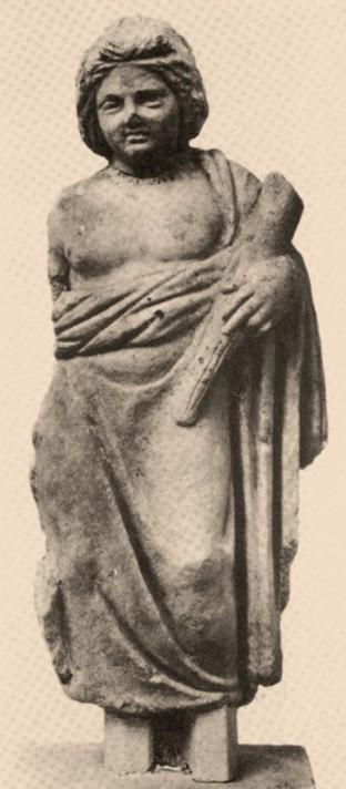 Μύστης με βάκχο και χοιρίδιο. Ελευσίνα, 4ος π. Χ. αι.