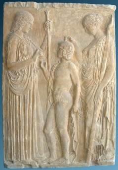 Η αποστολή του Τριπτολέμου. Ελευσίνα, 440 π.Χ.