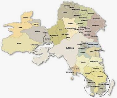 Δήμοι της Περιφέρειας Αττικής