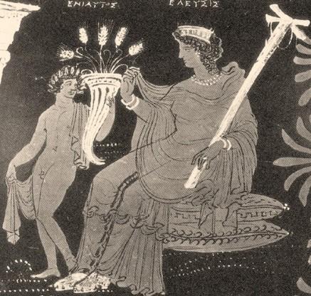 Η ΕΛΕΥΣΙΣ υποδέχεται τον ΕΝΙΑΥΤΟ. Λουτροφόρος, Getty, 330-320 π.Χ.