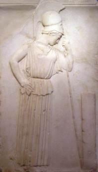 "H ""σκεπτόμενη"" Αθηνά από την Ακρόπολη, 460 π.Χ."
