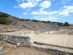 Πλυντήριο εμπλουτισμού μεταλλεύματος κοντά στο θέατρο του Θορικού