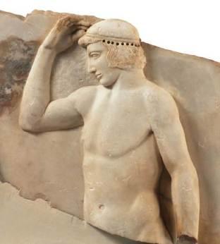 Αυτοστεφανούμενος από το Σούνιο, 460 π.Χ.