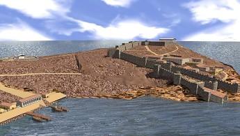 Το φρούριο του Σουνίου