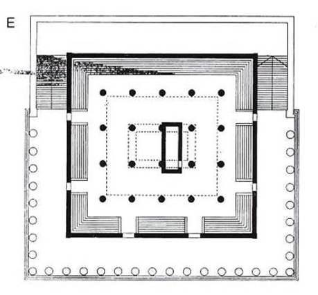 Τελεστήριο Ελευσίνας, Ε - Ικτίνου