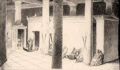 Τελεστήριο. Ο χώρος της τέλεσης του μυστικού γάμου του Πλούτωνα με την Περσεφόνη