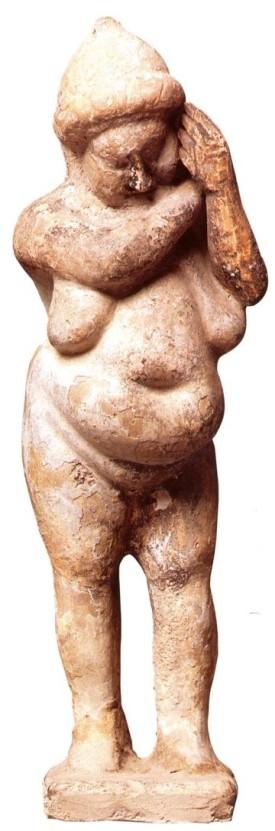 1. Πήλινο ειδώλιο παχύσαρκου, ύστερος 4ος π.Χ. αιώνας