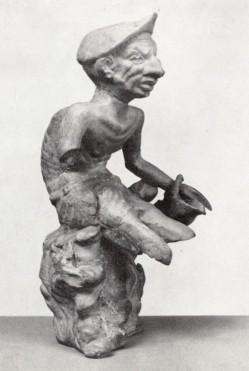 5γ. Ειδώλιο καχεκτικού ψαρά, 2ος π.Χ. αι., από τα Θυάτειρα της Μ. Ασίας