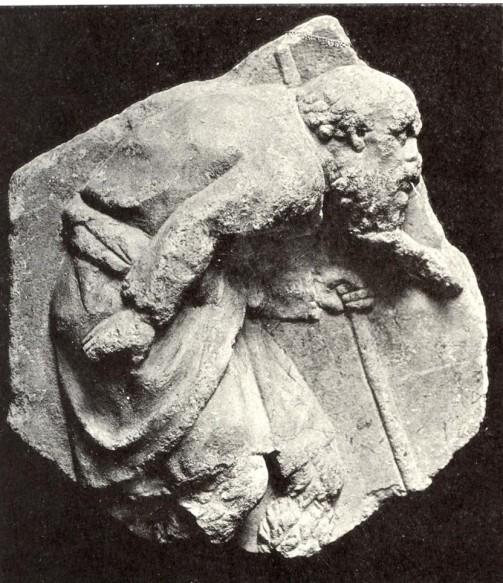 7α. Ανάγλυγο γέρου, καμπουριασμένου βοσκού, 3ος π.Χ. αιώνας