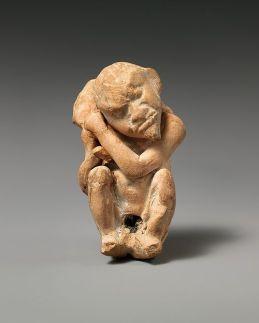 6βi. Πήλινο ειδώλιο Έρωτα με τη μορφή ηλικιωμένου άντρα, 2ος - 1ος π.Χ. αιώνας, από τη Μικρά Ασία, Σμύρνη, Metropolitan Museum NY