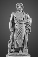 5δ. Ασκληπιός, ρωμαϊκό αντίγραφο έργου του 4ου π.Χ. αι., Museo Archeologico Nazionale di Napoli