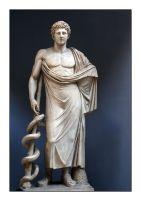5γ. Άγαλμα γιατρού ως Ασκληπιός, 2ος μ.Χ. αιώνας, Μουσείο Βατικανού