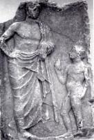 5α. Επιτύμβια στήλη γιατρού από τη Θήβα, 4ος π.Χ. αιώνας