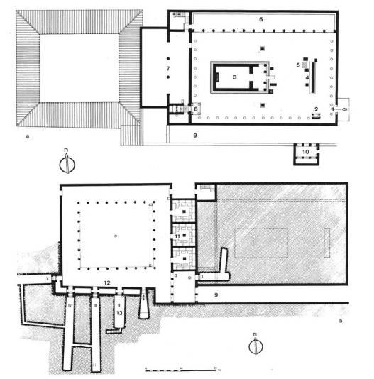 45α. Το Ασκληπιείο της Κορίνθου, κάτοψη