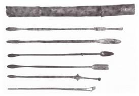 39γ. Χάλκινη ιατρική εργαλειοθήκη, ρωμαϊκή αυτοκρατορική εποχή, Βόννη