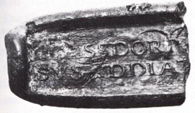 """25α. """"Αρτίδιο"""" κολλύριο κατά των φλεγμονών της περιοχής του ματιού από την Κολωνία, ρωμαϊκή αυτοκρατορική εποχή"""