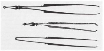 34α. Ιατρικές λαβίδες, ρωμαϊκή αυτοκρατορική εποχή, Βόννη