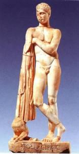 41α. Το άγαλμα του γιου του Ασκληπιού Ποδαλείριου από τις θέρμες, Δίον