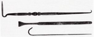 30α. Χειρουργικά άγκιστρα από τη Μ. Ασία, ρωμαϊκή αυτοκρατορική εποχή