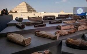 Στο φως 100 άθικτες σαρκοφάγοι στη Νεκρόπολη της Σακάρα
